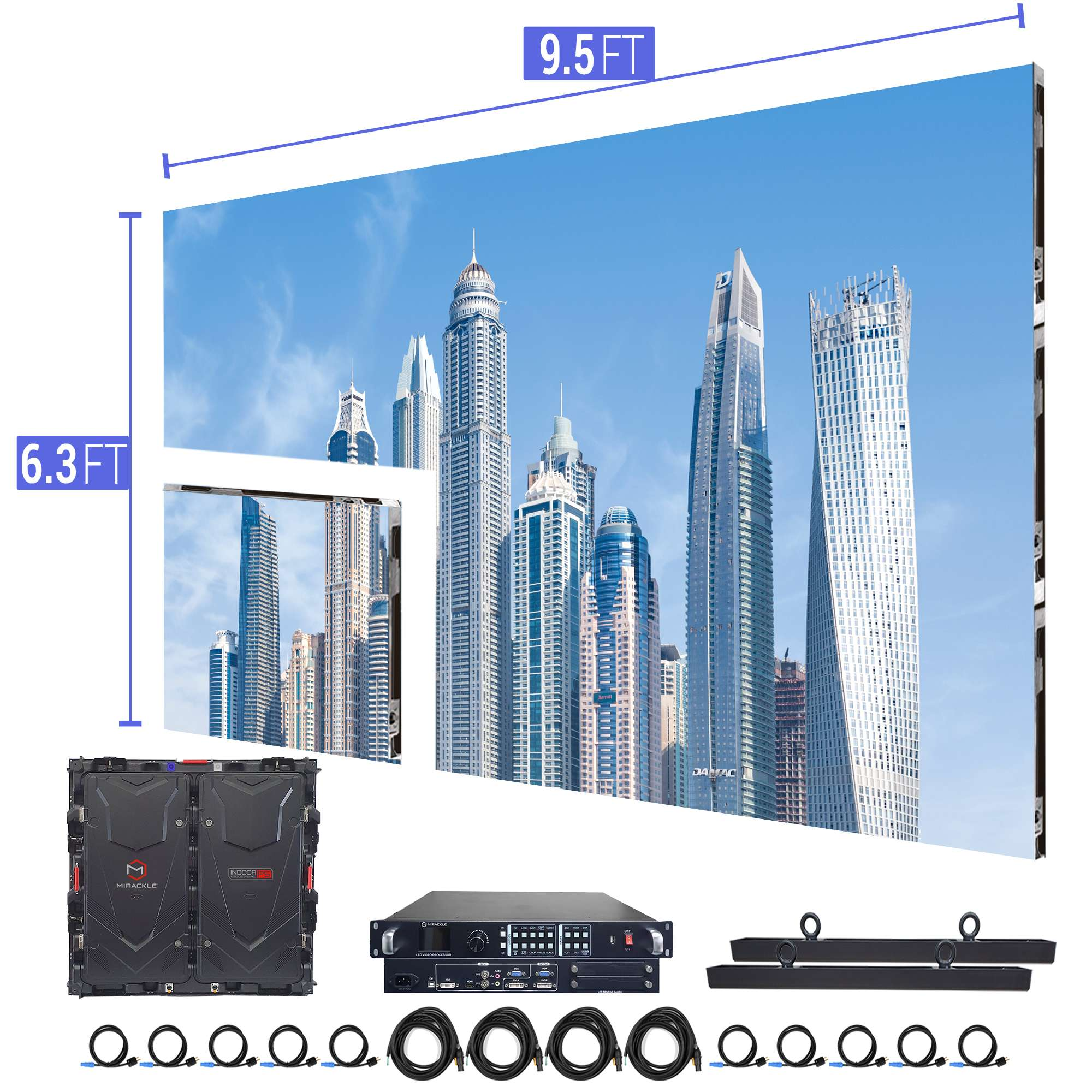 LED-Video-Wall-for-Church-9.5′-6.3′-P5mm-Indoor