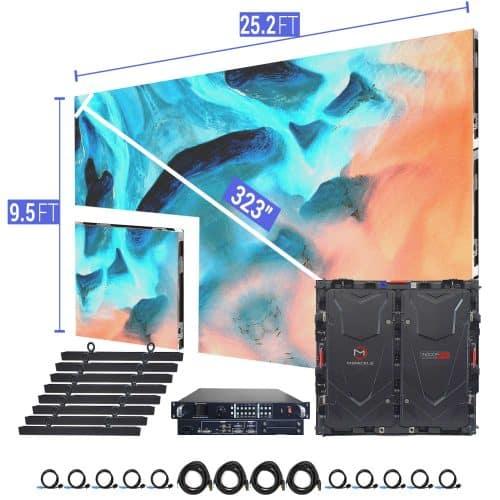 led video wall screen p5 church churches house of worship big screen