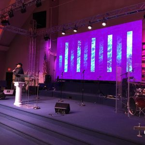 NovaStar P5 Indoor LED Video Wall Panel churches house of worship led displays screen